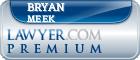 Bryan Emil Meek  Lawyer Badge
