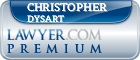 Christopher W Dysart  Lawyer Badge
