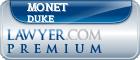 Monet La'Chia Duke  Lawyer Badge