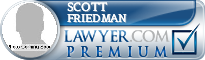 Scott Andrew Friedman  Lawyer Badge