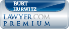 Burt Norman Hurwitz  Lawyer Badge