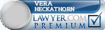Vera J. Heckathorn  Lawyer Badge