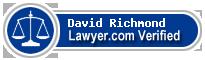 David S. Richmond  Lawyer Badge