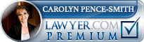Carolyn Pence  Lawyer Badge