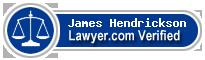 James Kyle Hendrickson  Lawyer Badge