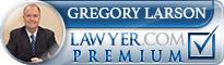 Gregory C. Larson  Lawyer Badge