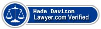 Wade Anthony Davison  Lawyer Badge
