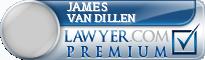 James L. Van Dillen  Lawyer Badge
