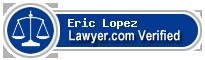 Eric M. Lopez  Lawyer Badge