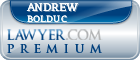 Andrew Bolduc  Lawyer Badge