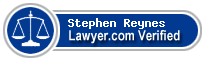 Stephen A. Reynes  Lawyer Badge