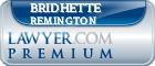 Bridhette L. Remington  Lawyer Badge