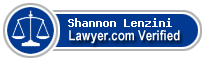 Shannon K. Lenzini  Lawyer Badge