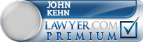 John E. Kehn  Lawyer Badge