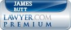 James Carroll Butt  Lawyer Badge
