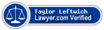 Taylor Alan Leftwich  Lawyer Badge
