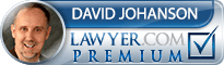 David R Johanson  Lawyer Badge