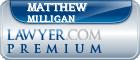 Matthew Robert Milligan  Lawyer Badge