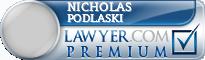 Nicholas Alexander Podlaski  Lawyer Badge