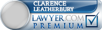 Clarence Benjamin Leatherbury  Lawyer Badge