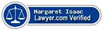 Margaret Leigh Isaac  Lawyer Badge