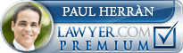 Paul Herrán  Lawyer Badge