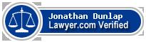Jonathan Abram Dunlap  Lawyer Badge