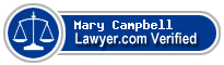 Mary E. Campbell  Lawyer Badge