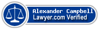 Alexander Campbell  Lawyer Badge