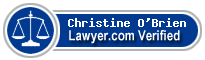 Christine Neylon O'Brien  Lawyer Badge