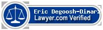 Eric Paul Degoosh-Dimarzio  Lawyer Badge