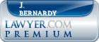 J. D. Bernardy  Lawyer Badge