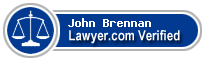 John Brennan  Lawyer Badge