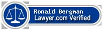 Ronald Bergman  Lawyer Badge