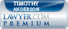 Timothy Anderson  Lawyer Badge