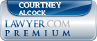 Courtney Alcock  Lawyer Badge