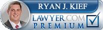 Ryan J. Kief  Lawyer Badge