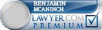Benjamin Douglas Mcaninch  Lawyer Badge
