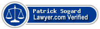 Patrick Oliver Sogard  Lawyer Badge