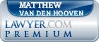 Matthew J. Van Den Hooven  Lawyer Badge