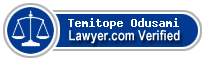 Temitope Taiwo Toni Odusami  Lawyer Badge
