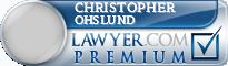 Christopher Erik Ohslund  Lawyer Badge