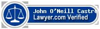 John F. O'Neill Castro  Lawyer Badge