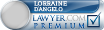 Lorraine Byrd D'Angelo  Lawyer Badge