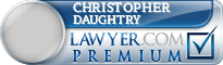 Christopher Lon Daughtry  Lawyer Badge
