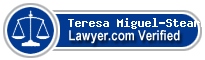 Teresa M Miguel-Stearns  Lawyer Badge