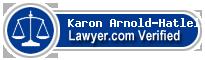 Karon Arnold-Hatleli  Lawyer Badge