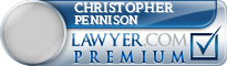 Christopher R Pennison  Lawyer Badge