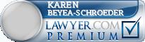 Karen H Beyea-Schroeder  Lawyer Badge