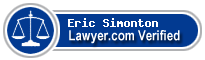 Eric F Simonton  Lawyer Badge
